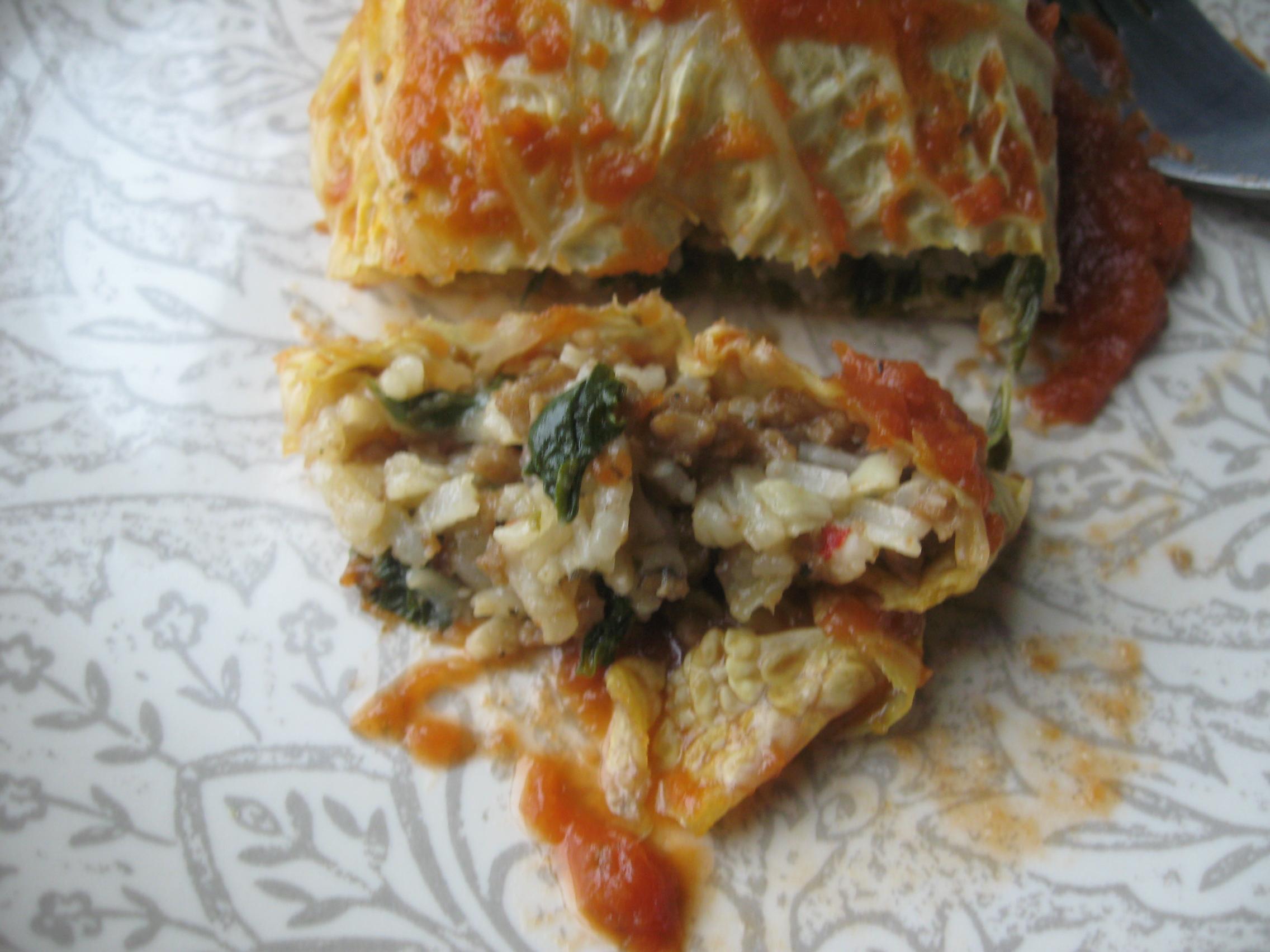 vegetarian cabbage rolls | V-Spot