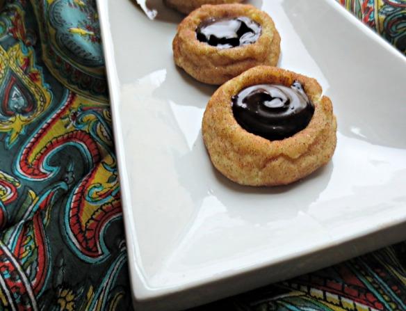 Chocolate Ganache Snickerdoodles