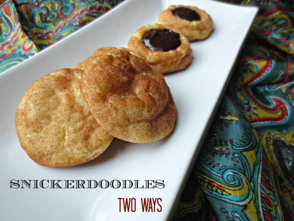 Snickerdoodles Two Ways