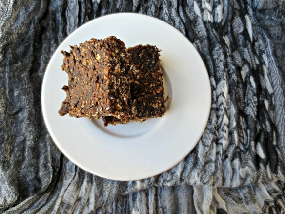 Cocoa and Toasted Coconut Energy bars