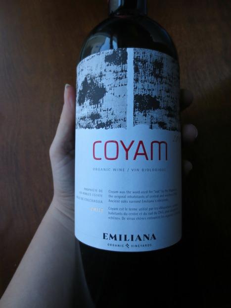 Hand of Emiliana Coyam 2010