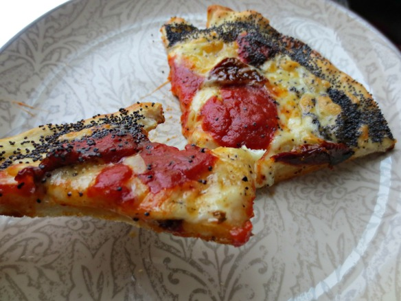Sundried Tomato Pizza Bitten