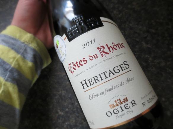 2011 Cotes du Rhone Heritages Ogier