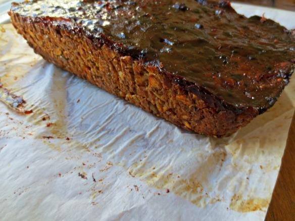 Spice and Stout Lentil Loaf