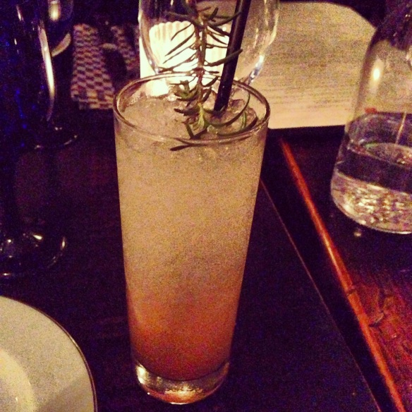 Rosemary Fizz from the Bicycle Theif