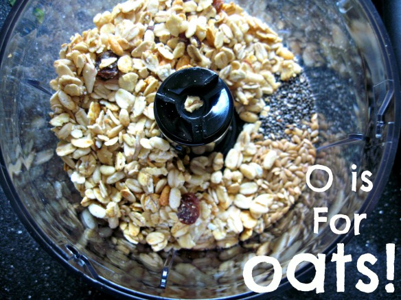 O is for Oats!