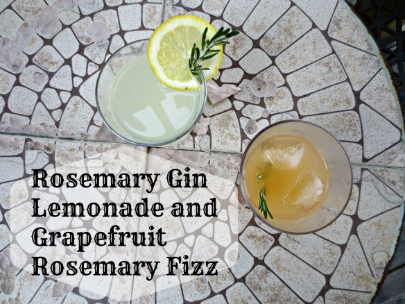 Rosemary Gin Cocktails