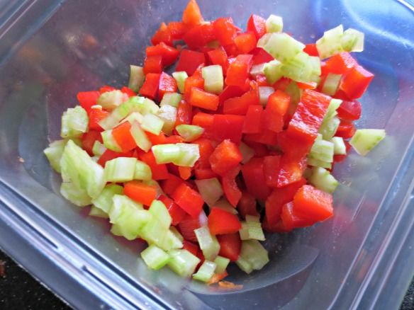 Red Pepper and Celery