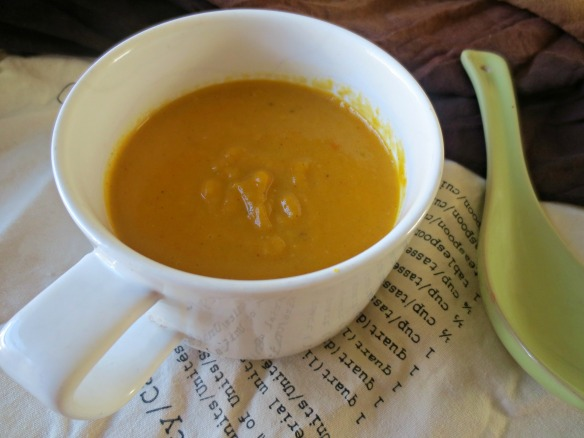 Sweet Potato Carrot Bisque